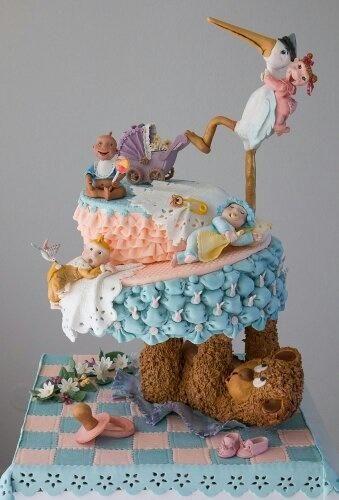 My «Baby cake» - Cake by silvia61