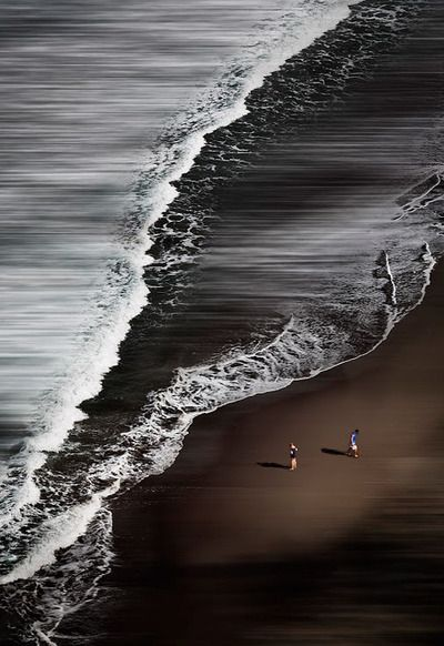 Black Sand Beach, Big Island, Hawaii by David Psaila