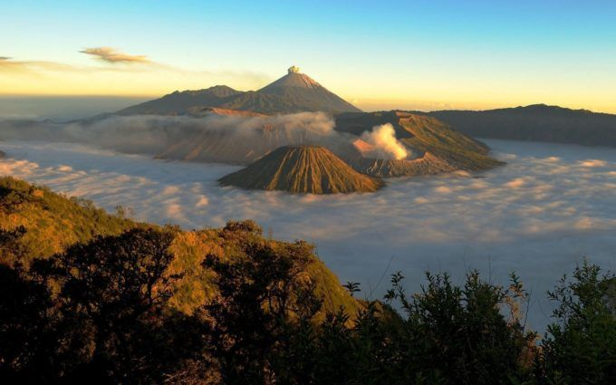 mount bromo indonesia nature hd wallpaper 1920x1080 5705 - HD Wallpapers | Free HD Desktop Wallpapers 100% Quality