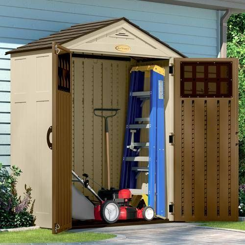 suncast everett 6ft x 3ft storage garden shed