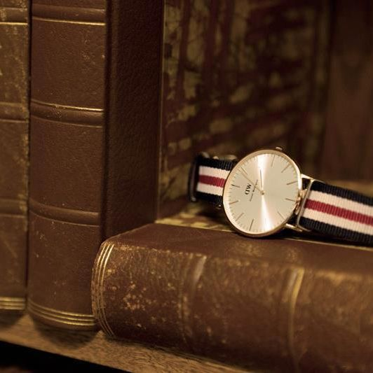 Daniel Wellington! Now available for men and women.