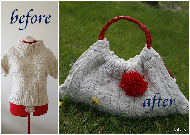 Make a Knitted Handbag without the Knitting - Free Tutorial