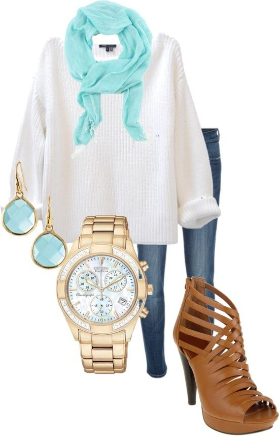 23 Spring Trendy Polyvore Combinations