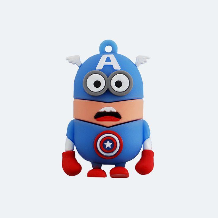Minion Amerika Kapitány Pendrive