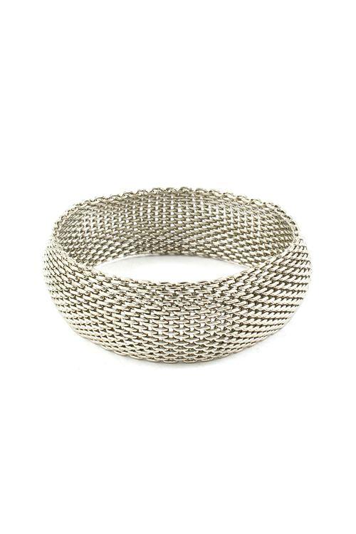 Classic Mesh Bracelet in Silver