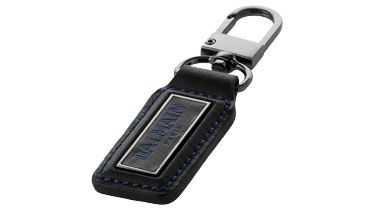 #Llavero de cuero de Balmain para #regalos de empresa o #merchandising. Más información sobre el regalo en: http://www.regalodeempresagsr98.es/regalos-merchandising/llaveros-118055/
