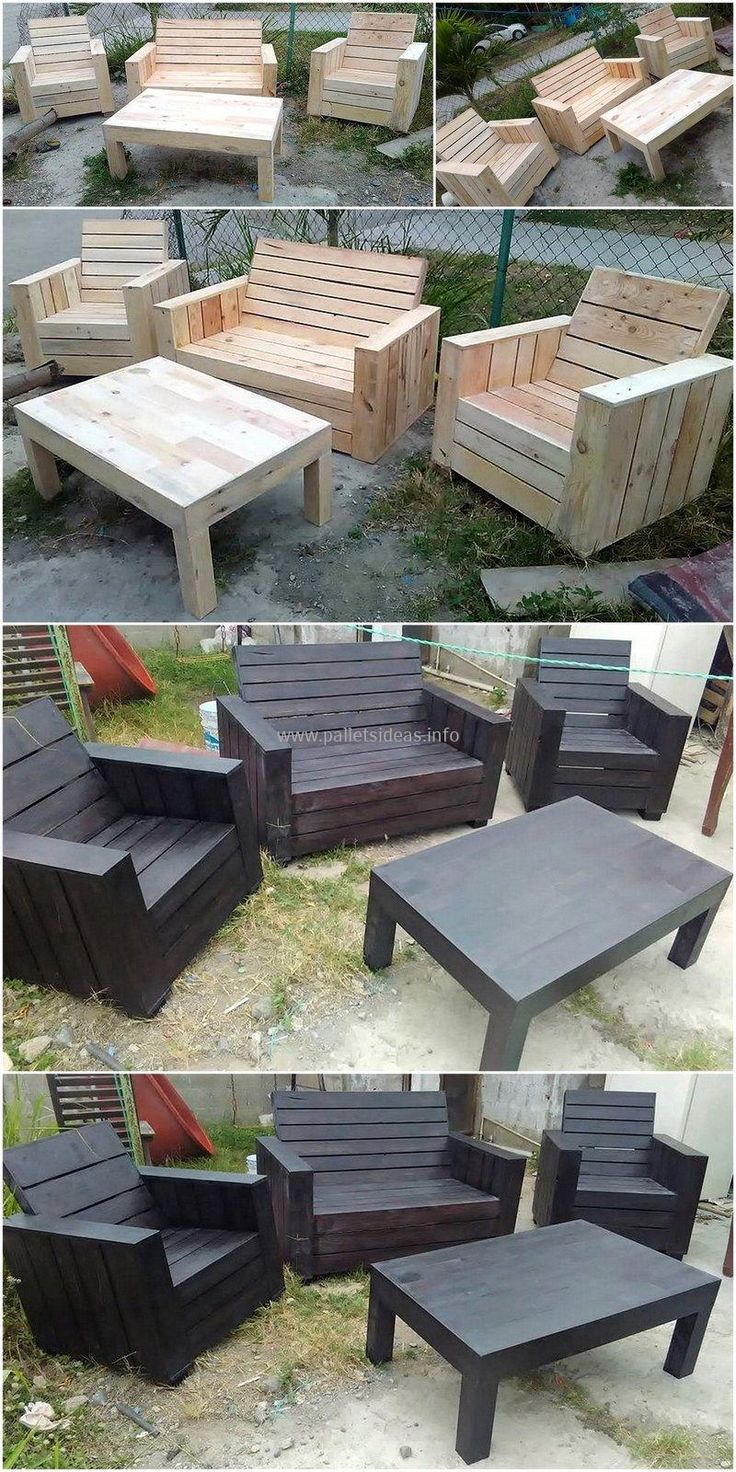 Awesome Wooden Pallets Reusing DIY Ideas 647