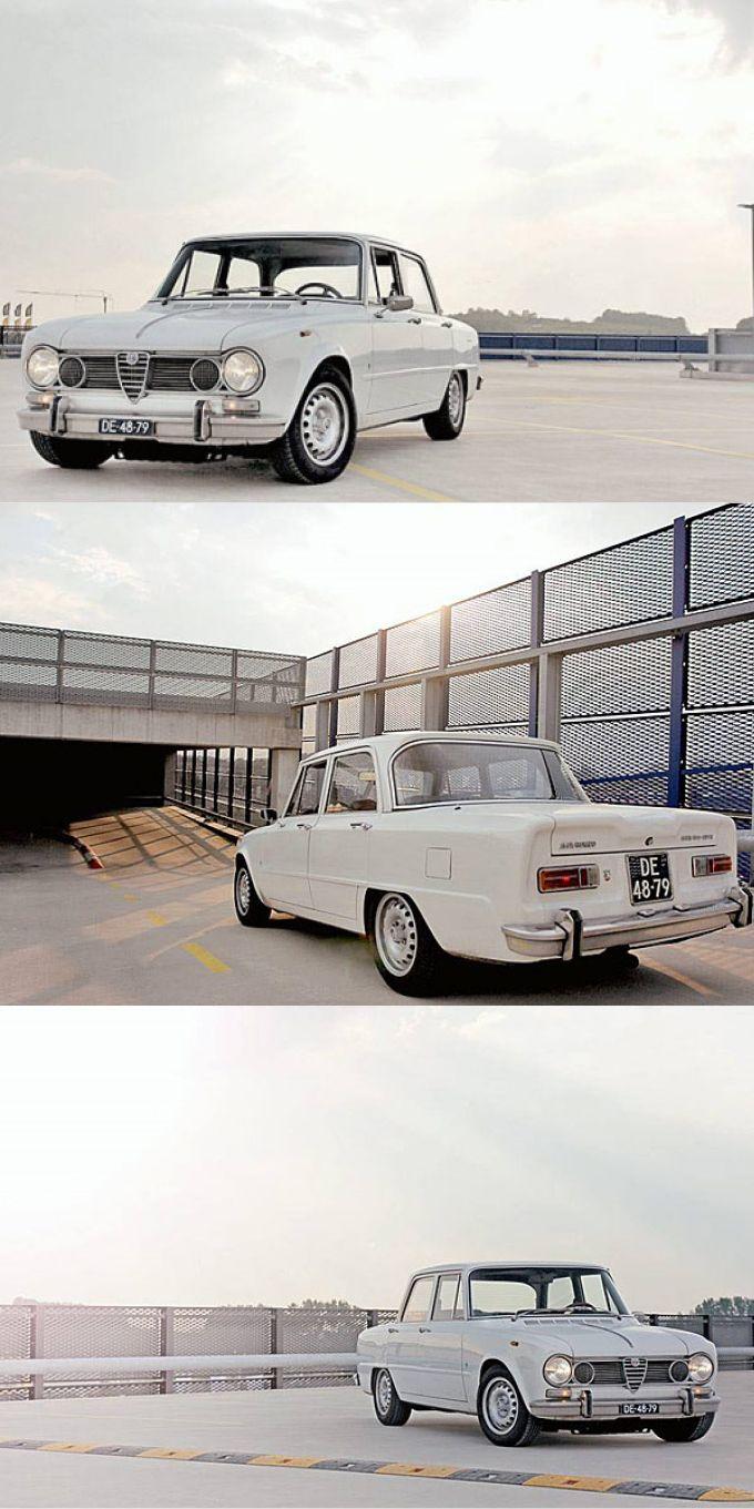1962 White Alfa Romeo Giulia 1600 TI Super