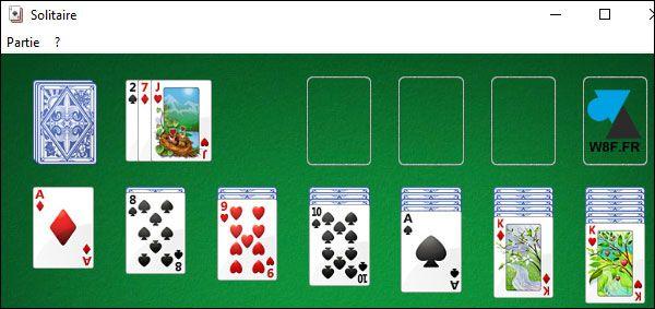 télécharger installer jeux Windows 7 sur Windows 10 Spider Solitaire Demineur Freecell Mahjong