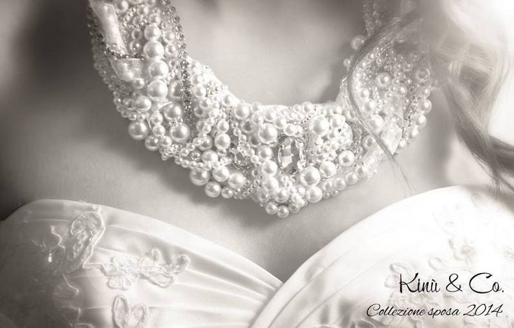 Bride bib necklace - Collana da sposa di Kinù & Co. su DaWanda.com