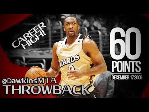 Gilbert Arenas Career-HIGH 2006.12.17 at Lakers - NASTY 60 Pts, Franchis...