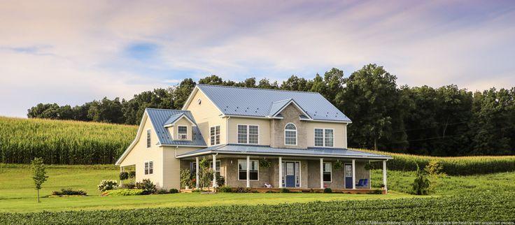 Slate Blue Metal Roof