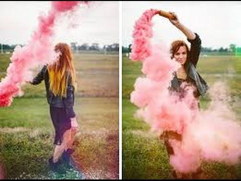 how to make a colored smoke bomb youtube