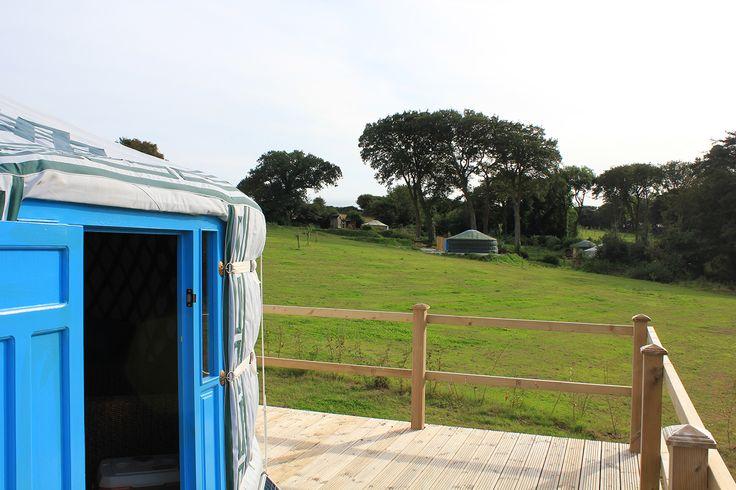 Fir Hill Yurts Cornwall #glamping #realglamping