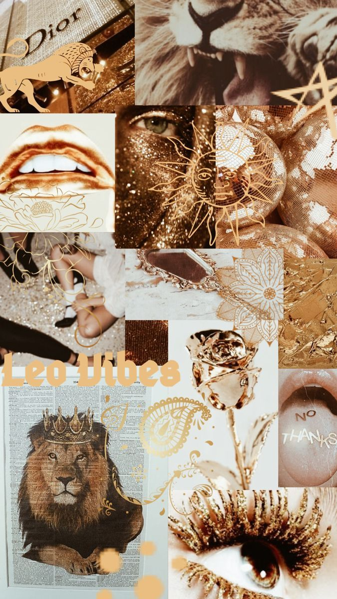 Pin On Mes Enregistrements Aesthetic leo zodiac wallpaper