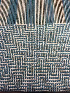 Got the warp, what does the weft do???