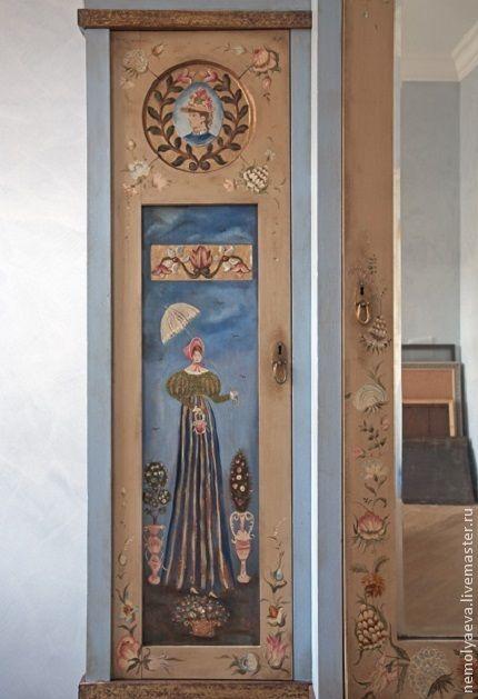 Роспись мебели. - шкаф ручной работы,шкаф с росписью,мебель с росписью