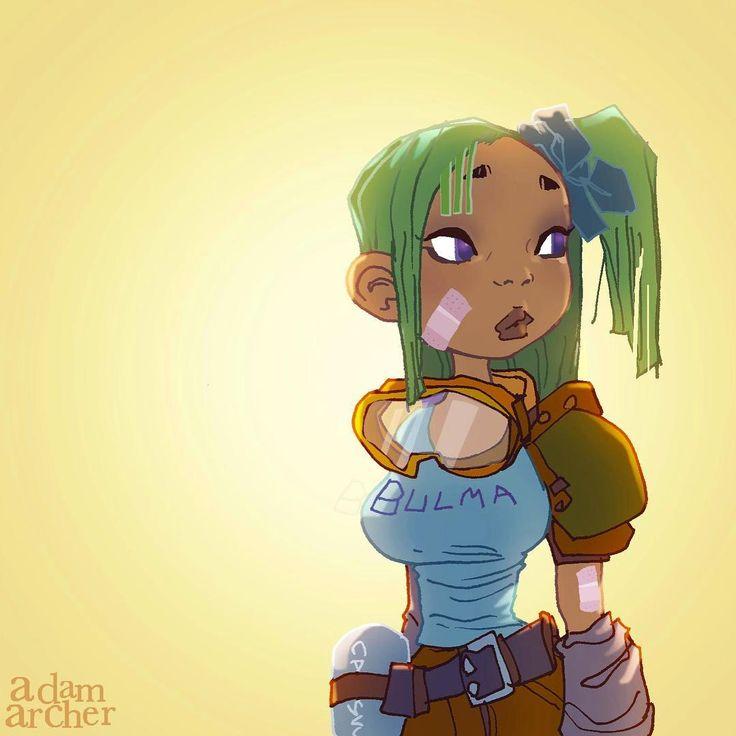 it's tough not to ❤️ #bulma.  a little fan art for the night. #art  #artstagram  #drawing  #illustration  #ラクガキ #イラスト #그림  #comics  #comicart  #cartoons  #instaart  #artgallery  #artoftheday #comicbookart #akiratoriyama  #dragonballz #dragonball #goku #songoku #manga #anime