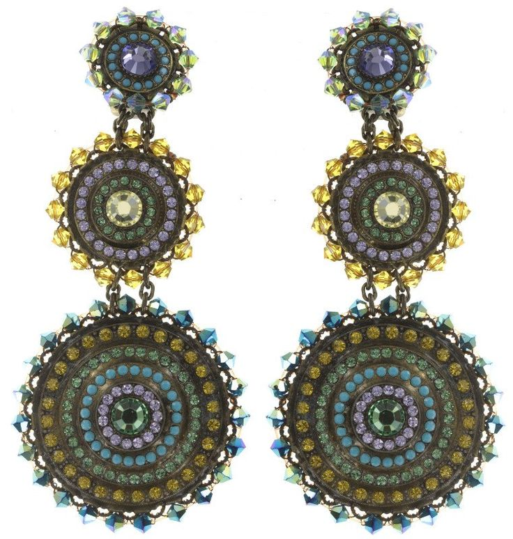 KONPLOTT Ohrring Clip baumelnd Maharani Multi
