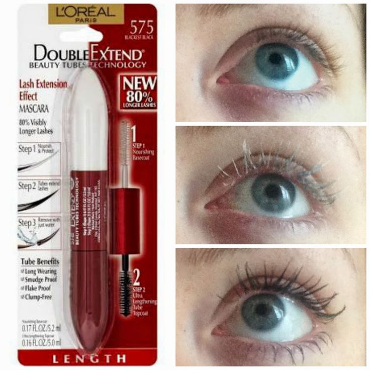 06710485134 Best Waterproof Mascara Loreal Double Extend Beauty Tubes | Make-up in 2019  | Mascara, Best mascara, Tubing mascara