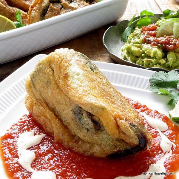 Chorizo Chile Rellenos Low Carb Gluten And Grain Free Via