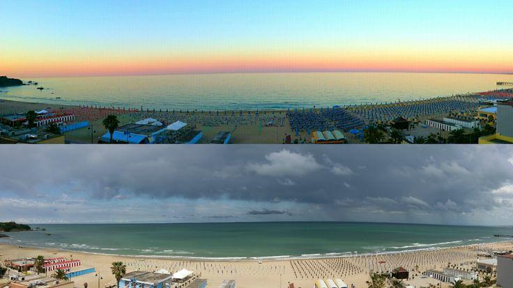 VASTO MARINA <3  #vastomarina #chieti #abruzzo #sea #mare #spiaggia #beach #sun #sky #amazing #wonderful #MARE