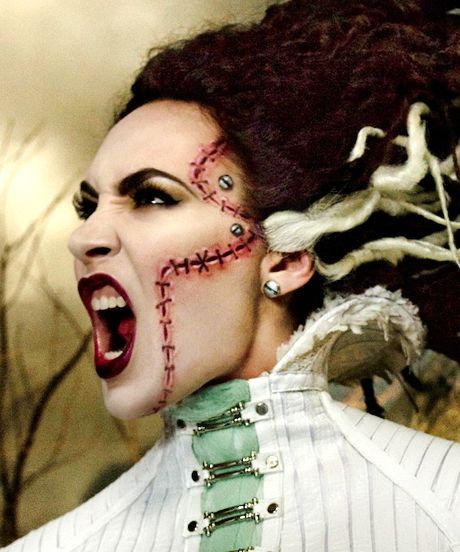 Micheline Pitt made up by Rick Baker. This Is How MAC Does Halloween — That Is, Awesomely #refinery29
