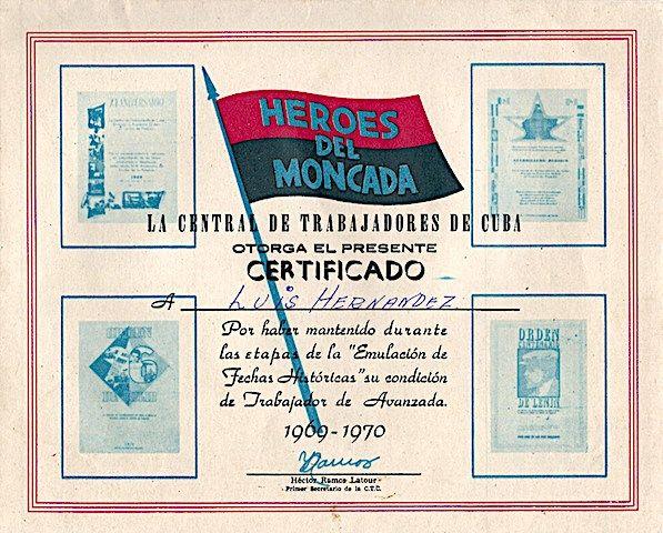 """El movimiento de trabajadores de avanzada era, según los define la historiadora Linda Fuller (1992, """"Cuban Unions and Workers Control,"""" pp. 54-75 in Cuba: A Different America,editado porWilber A. Chaffee y Gary Prevost), una fuerza de trabajadores de élite, electos en asambleas laborales. En 1969 sumaban235,000 individuos, es decir, el 12 portento de la fuerza …"""