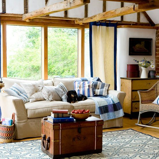 surprising new england style living room | 17 Best images about New england on Pinterest | Decorating ...