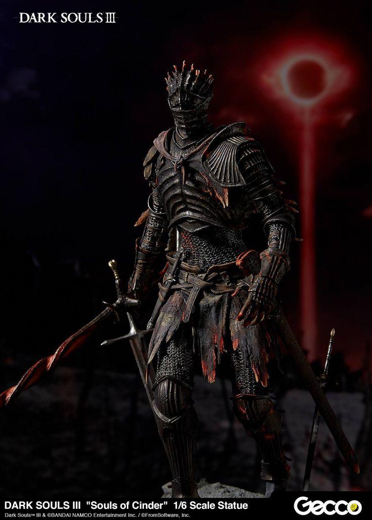 Gecco's Dark Souls 3 Souls of Cinder Statue - The Toyark - News
