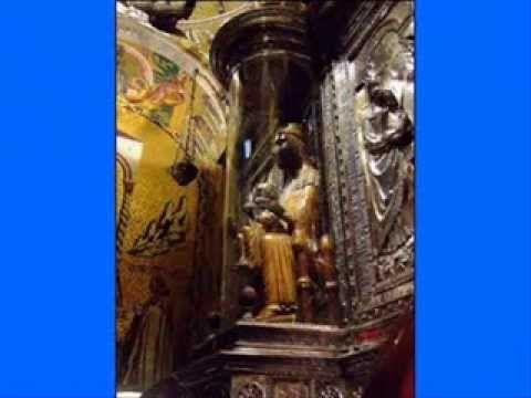 """27 de Abril: Nuestra Señora de Montserrat. MONASTERIO de NUESTRA SEÑORA de MONTSERRAT """" la moreneta """" -"""