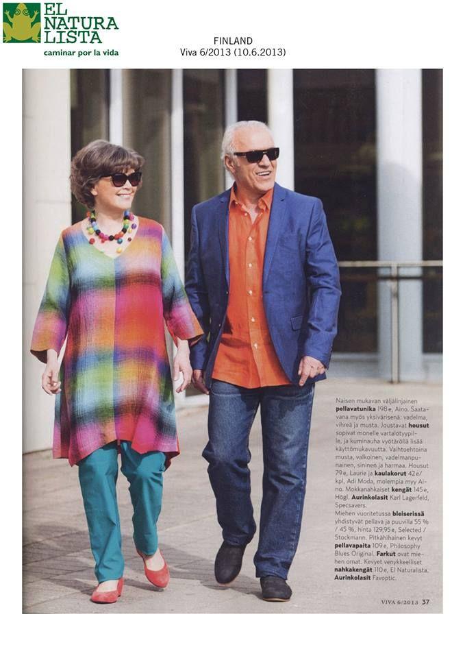 El Naturalista on ikärajaton! Tässä ihana fiiliskuva kesäkuun alun Viva- lehdestä.