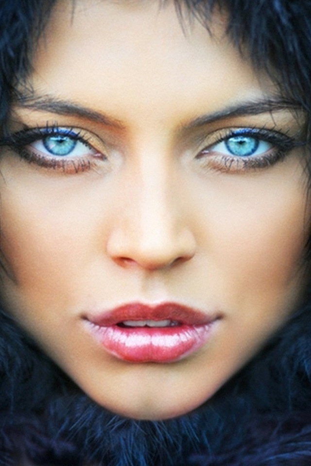 Deep blue Oh Those Eyes!! Pinterest
