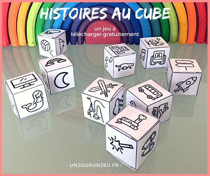 Développez l'imagination de vos enfants avec ce jeu de dés qui va leur permettre d'inventer des milliers d'histoires.