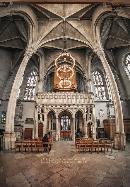 Magdalen college chapel-Oxford