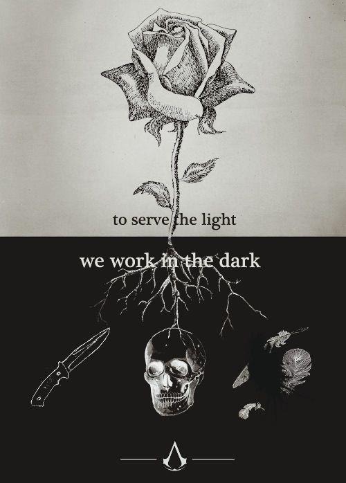 Trabajar por la luz desde la oscuridad
