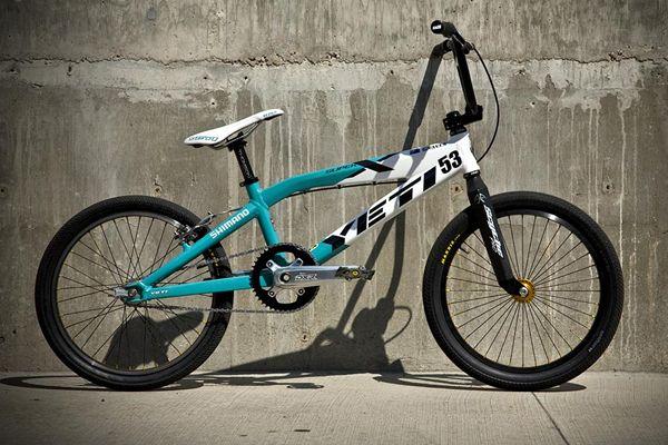 Jared Graves Olympic BMX bike
