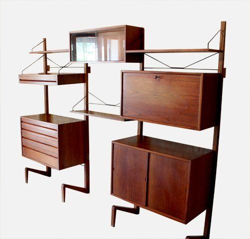 Chicbaazar objets Vintage 50-60-70 : Étagères scandinaves, système ...