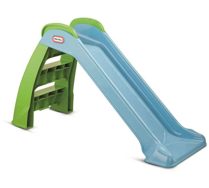 Buy Little Tikes My First Slide - Blue/ Green at Argos.co.uk, visit Argos.co.uk to shop online for Slides, Swings, slides and climbing frames, Outdoor toys, Toys