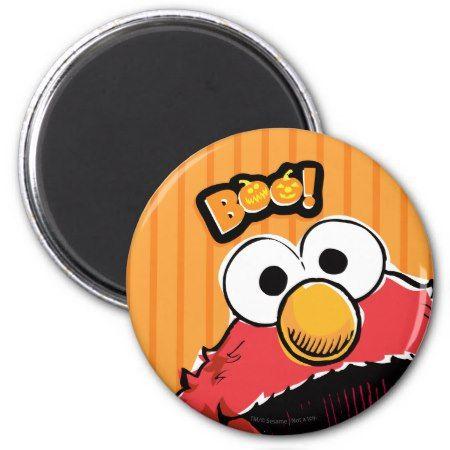 Elmo - Boo! Magnet | Zazzle.com (With images) | Elmo ...