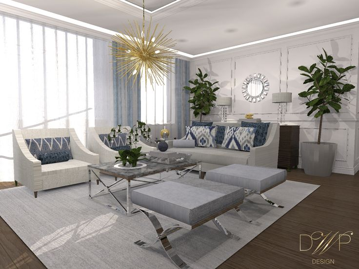 Project of a chic & stylish apartment in Olsztyn Poland.