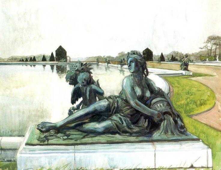 Александр Бенуа «Версаль. Аллегория реки» 1905