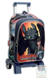 MOCHILA CARRO DESMONTABLE DRAGONS DEFENDERS