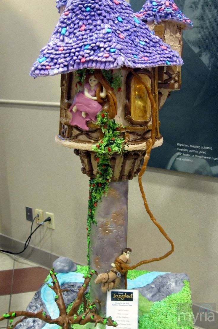 434 Best Images About Disney S Tangled Cakes On Pinterest