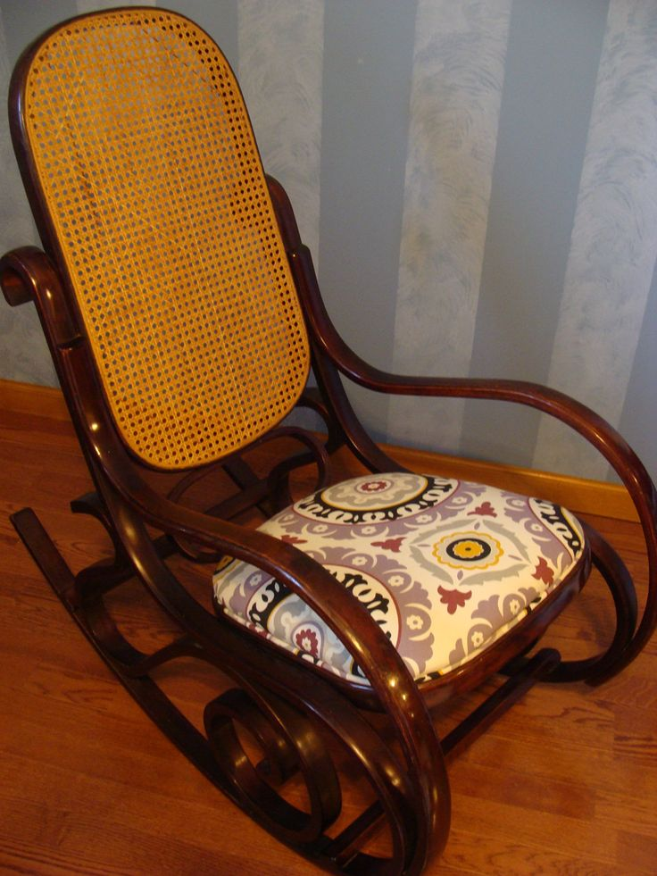 I Need To Replace The Seat On My Bentwood Rocker Too! But Not With Such