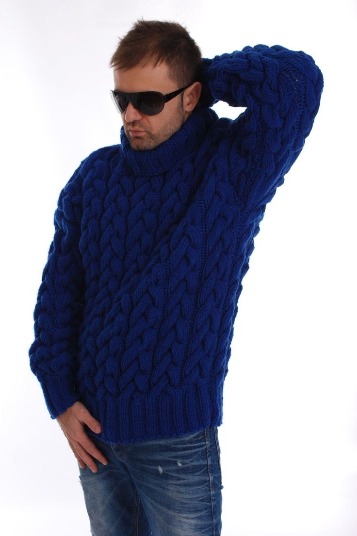 Wool SWEATER Thick Fuzzy