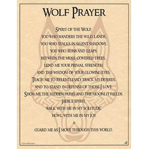 Wolf Prayer poster – harry barrows