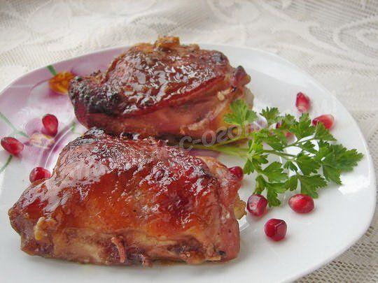куриные бёдрышки в маринаде