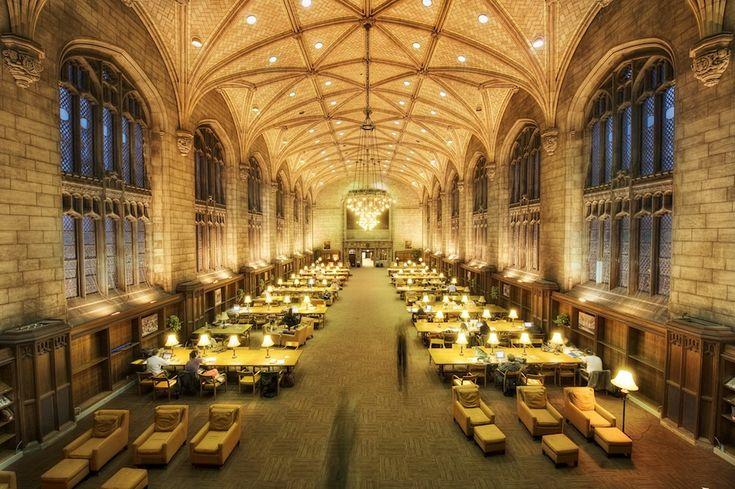 IlPost - Harper Memorial Library, USA - Harper Memorial Library, Università di Chicago, Chicago, USA  (Foto: Justin Kern)
