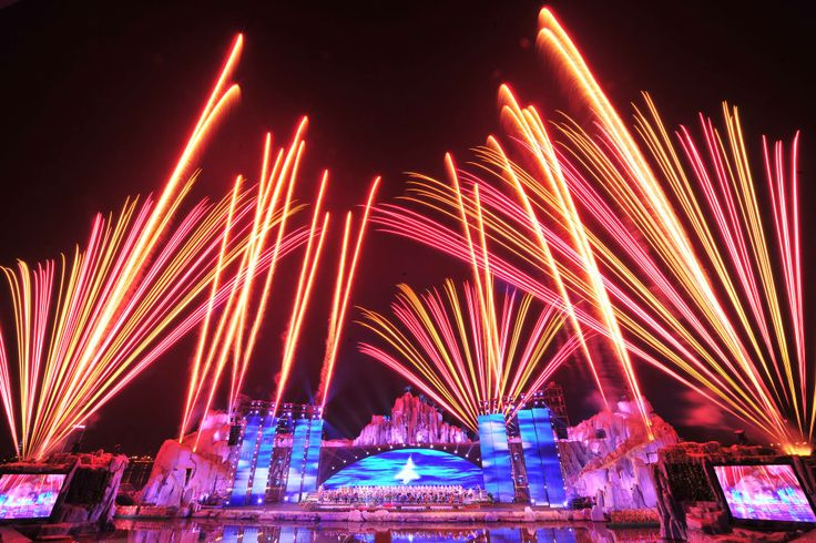 Stage pyrotechnics by Avalon Fireworks